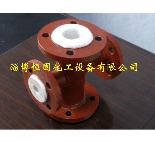 上海衬塑管道设备异径四通