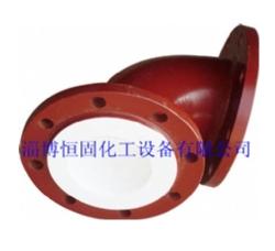 衬氟管道设备 钢衬四氟弯头