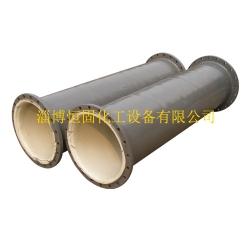 天津衬塑管道设备 直管